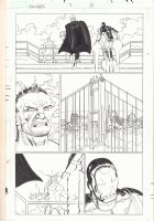 Avengers #7 p.11 - Wonder Man, Thor, and Iron Man - 2010  Comic Art