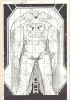 Captain America #6 p.2 - Arnim Zola Splash - 2013 Comic Art