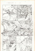 Captain America #8 p.3 - Captain America vs. Captain Zolandia - 2013 Comic Art