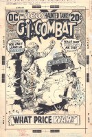 G.I. Combat #158 Cover - John's 1st Cover for DC - 1973 Signed