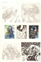 Venom Jam Piece - 2009 art by David Finch, Warren Martineck, & Others Comic Art