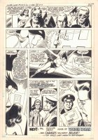 Wonder Woman #249 p.17 - Hawkgirl and Wonder Woman End Page - 1978  Comic Art