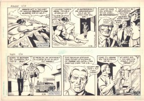 Superman Comic Strip - Written by Paul Kupperberg - 11/14/1983 & 11/15/1983 Comic Art