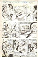 NFL Superpro #2 p.30 - Action - 1991 Signed Comic Art