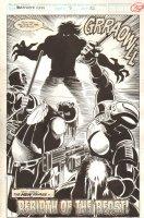 Ravage 2099 #9 p.30 - End Page 100% Splash - 1993 Comic Art