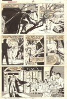 Marvel Fanfare #38 p.13 - Moon Knight at the Danielle Clarke Home for Lost and Friendless Girls - 1988 Signed Comic Art