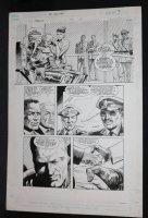 RoboCop #5 p.7 - LA - RoboCop Unmasked - 1990 Comic Art