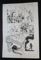 RoboCop #% p.22 - LA - RoboCop Action - 1990 Comic Art
