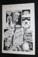RoboCop #4 p.8 - LA - City Riot Splash - 1990 Comic Art