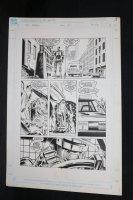 RoboCop #10 p.3 - LA - RoboCop and Sewerman - 1990 Comic Art