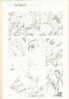 Captain Marvel #25 p.9 - Hot Babe Having Sex - 2001 Comic Art