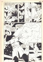DC Challenge #11 p.11 - Floyd Ellis 1/2 Splash - 1986 Comic Art
