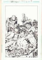 DC Universe Presents #0 p.3 - O.M.A.C. Origins Matter After Cancellation - Jack Kirby-esqye Splash - 2012  Comic Art