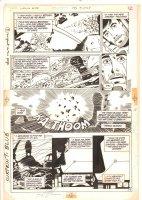 Legion of Super-Heroes, The #308 p.9 - 1984 Signed Comic Art