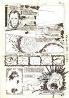 Legion of Super-Heroes, The #308 p.10 - 1984 Signed Comic Art