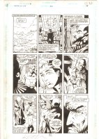 Legion of Super-Heroes #26 p.9 - Invisible Kid & Universo - 9 Panel Page - 1992 Signed Comic Art