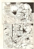 All New Exiles #2 p.6 - Juggernaut and Babe - 1995 Comic Art