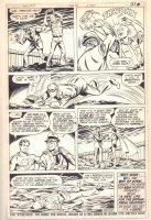 New Adventures of Superboy #14 p.21 - Pa Kent Beats Lex Luthor End Page - 1981 Comic Art