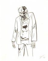 Zombie Commission - 2014 Signed Comic Art