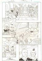 R.E.B.E.L.S. #4 p.3 - 2009 Signed Comic Art