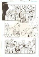 R.E.B.E.L.S. #9 p.18 - 2009 Signed Comic Art