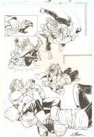 R.E.B.E.L.S. #13 p.17 - 2010 Signed Comic Art