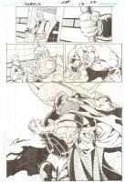 R.E.B.E.L.S. #13 p.22 - 2010 Signed Comic Art