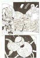 R.E.B.E.L.S. #14 p.1 - 2010 Signed Comic Art