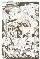 R.E.B.E.L.S. #14 p.6 - 2010 Signed Comic Art