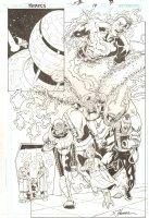 R.E.B.E.L.S. #14 p.7 - 2010 Signed Comic Art