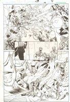 R.E.B.E.L.S. #14 p.8 - 2010 Signed Comic Art