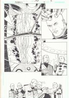 R.E.B.E.L.S. #19 p.11 - Brainiac - 2010 Signed Comic Art