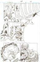 R.E.B.E.L.S. #11 p. 26 - Malia Action - 2010 Signed Comic Art