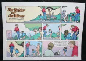 For Better or For Worse Color Proof - 9/26/1993  Comic Art