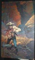 Gunsmoke Painted Art Cover - LA - Marshal Matt Dillon (James Arness) - 1970s Comic Art