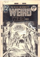 Weird War Tales #20 Cover - 'Operation: Voodoo!' Horror-War Cover - 1973 Signed Comic Art