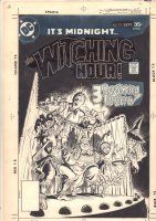 Witching Hour #74 Cover - Storyteller Mordred and Horror Puppet Show - 1977  Comic Art