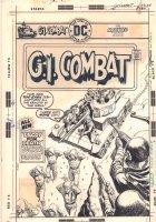 G.I. Combat #191 Cover - Nazis vs. the Haunted Tank - 1976 Comic Art
