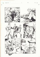 Indiana Jones and the Kingdom of the Crystal Skull #1 p.43 - Movie Adaptation - Indy Punches Mac - Mutt Captured - 2008 Comic Art