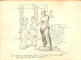 Venus de Milo  Comic Art