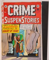Crime Suspenstories #11 Colored EC Cover  Comic Art