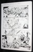 Fantastic Four #8 p.17 - Thing vs. Gangsters - 2013  Comic Art
