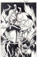 All-New X-Men #12 p.20 - Madelyne Pryor End Page 100% Splash - 2016 Signed Comic Art