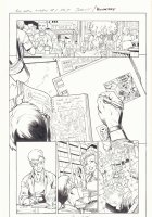 All-New X-Men #1 p.7 - Cyclops and Marla in Chicago - 2016 Signed Comic Art