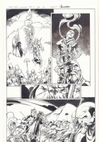 All-New X-Men #11 p.12 - Genesis (Kid Apocalypse Clone) and En Sabah Nur Action - 2016 Signed Comic Art