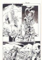 All-New X-Men #11 p.12 - Genesis (Kid Apocalypse Clone) and En Sabah Nur Action - 2016 Signed Comic Art