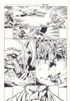 All-New X-Men #11 p.13 - Genesis (Kid Apocalypse Clone) Action - 2016 Signed Comic Art