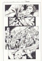All-New X-Men #10 p.1 - Beast with Sword at Throat in Ancient Egypt - 2016 Signed Comic Art