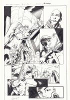 All-New X-Men #11 p.5 - En Sabah Nur (Apocalypse) and Genesis (Kid Apocalypse Clone) Free Beast from Crucifixion in Ancient Egypt - 2016 Signed Comic Art