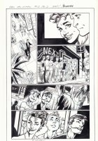 All-New X-Men #13 p.2 - Iceman, Genesis (Kid Apocalypse Clone), & Oya go to a Gay Club in Miami - 2016 Signed Comic Art